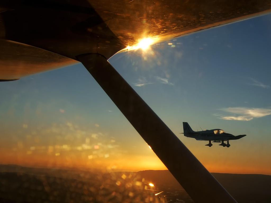 Sunset Flight... 09062702095792713962719
