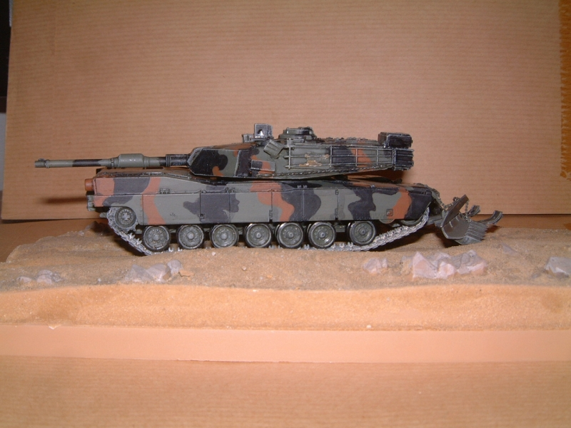 M1A1 with mine plough (1/72 DRAGON) 090629110843588623979113