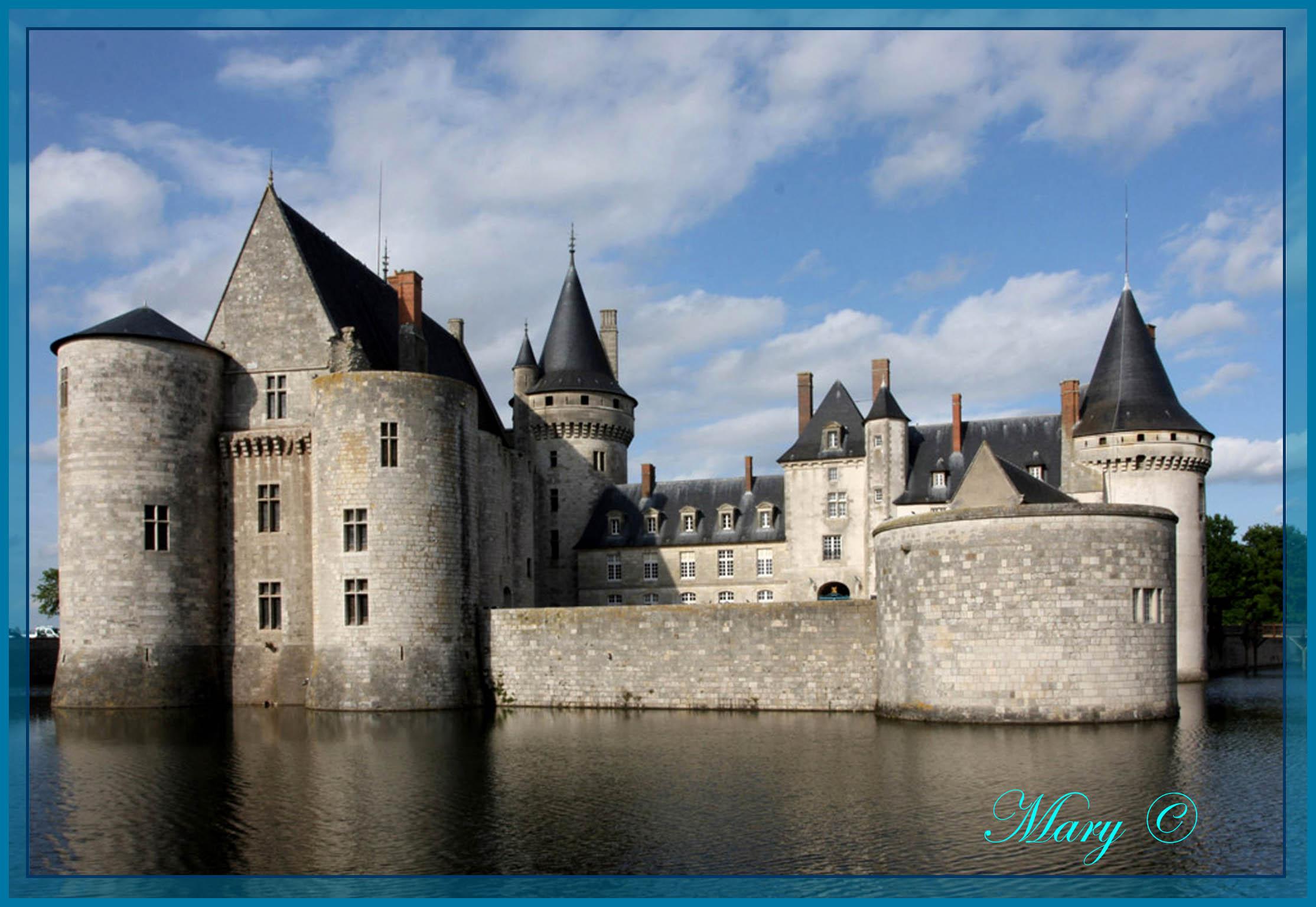 Sully sur Loire.Arriere.