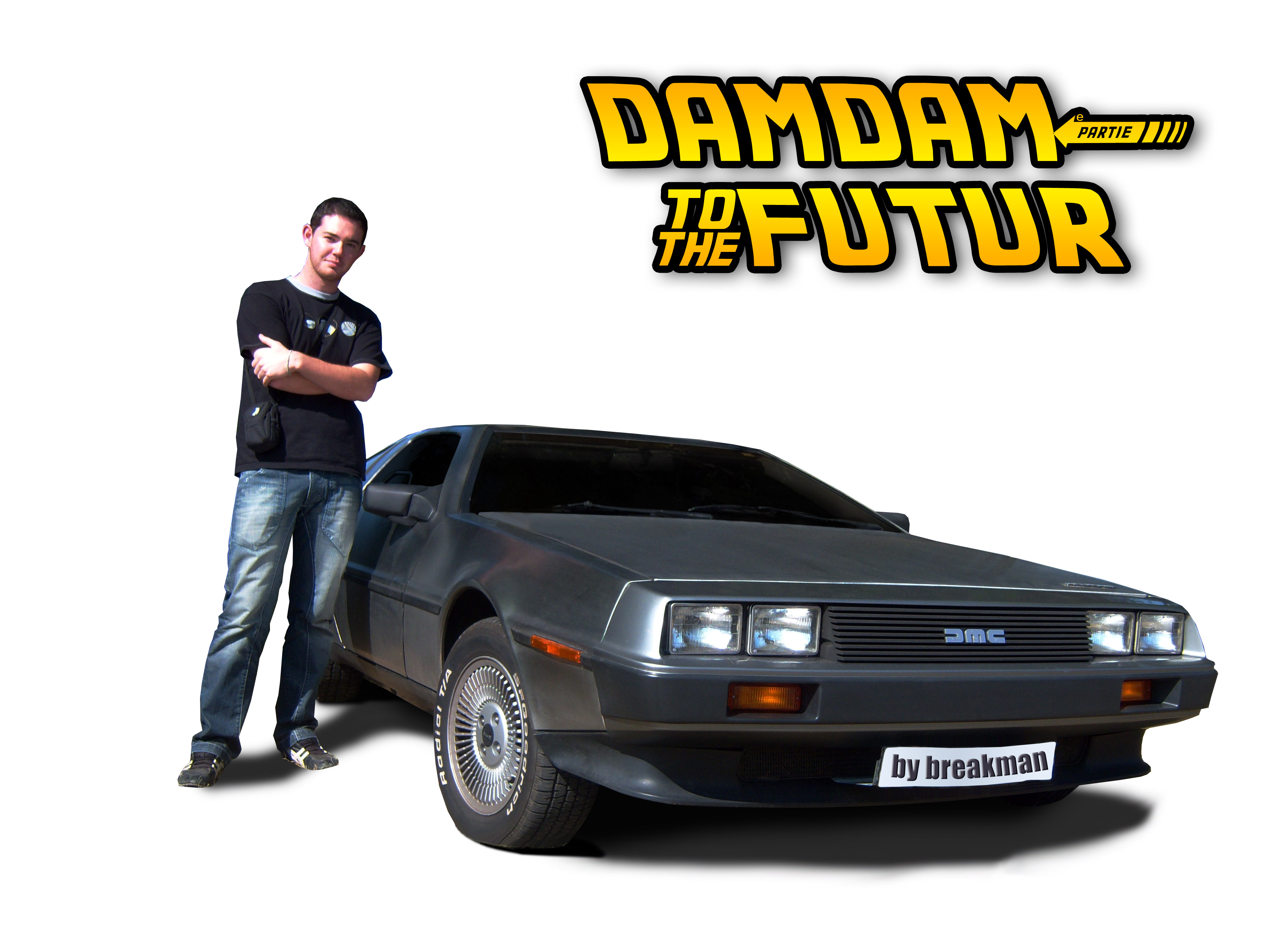 Damien-back to the future