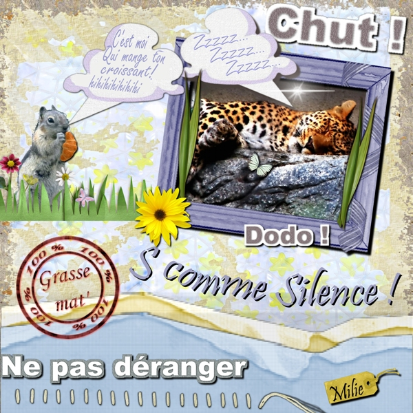 S comme Silence w