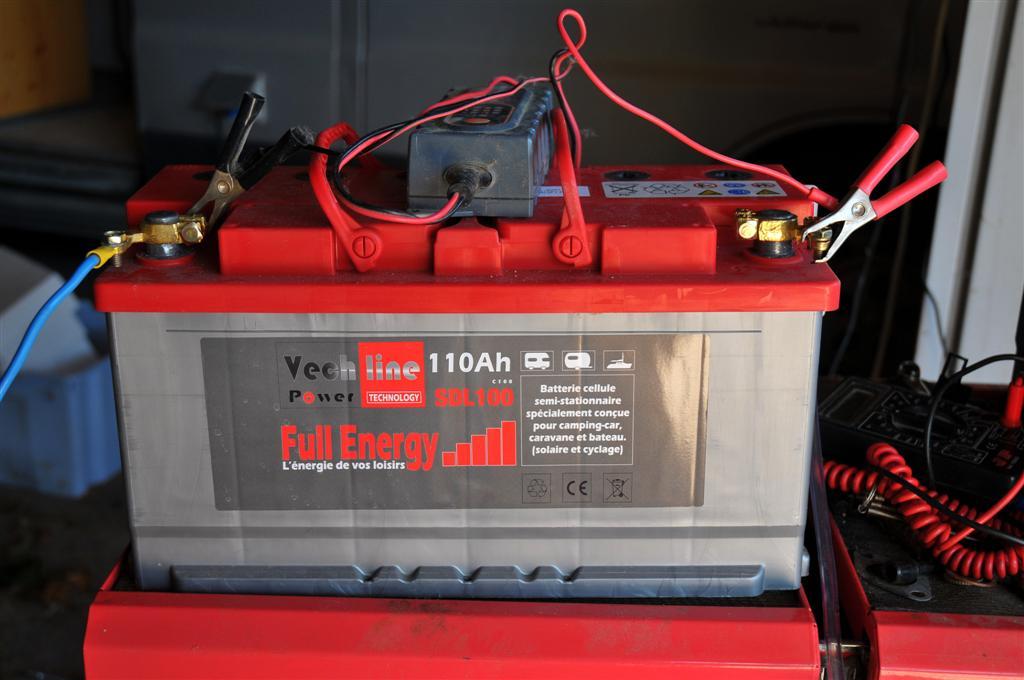 Batterie de servitude ou batterie auxiliaire adaptées pour